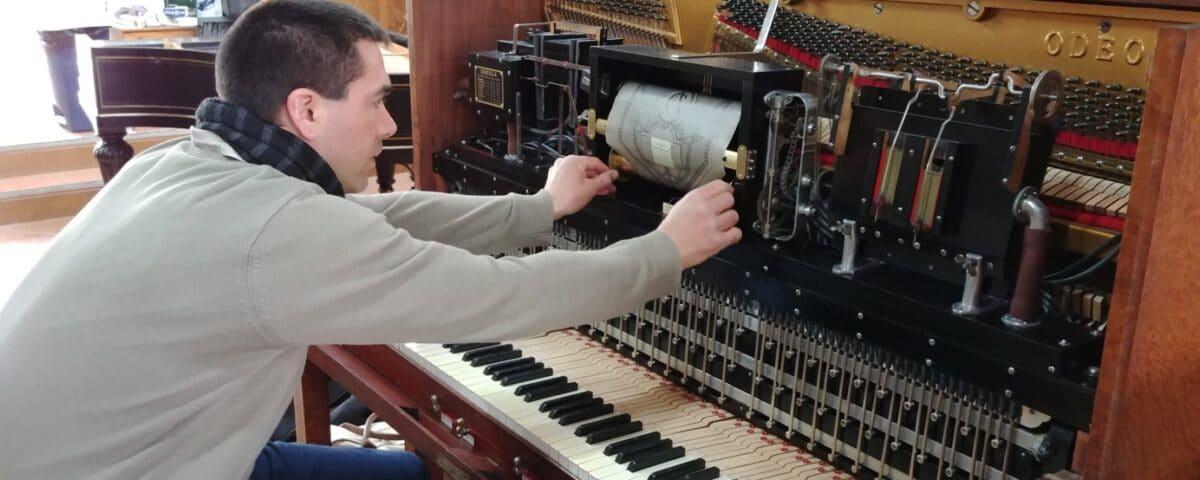 démontage piano droit
